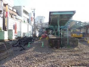 下北沢旧ホーム